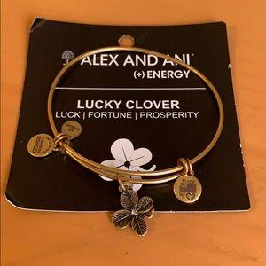Alex and Ani Lucky Clover